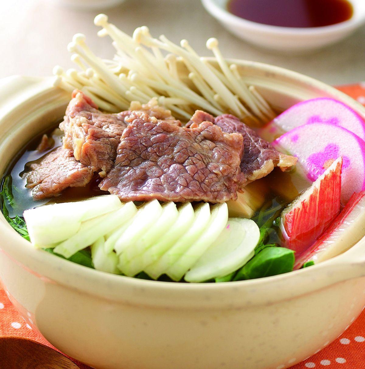 食譜:牛肉味噌豆腐煮