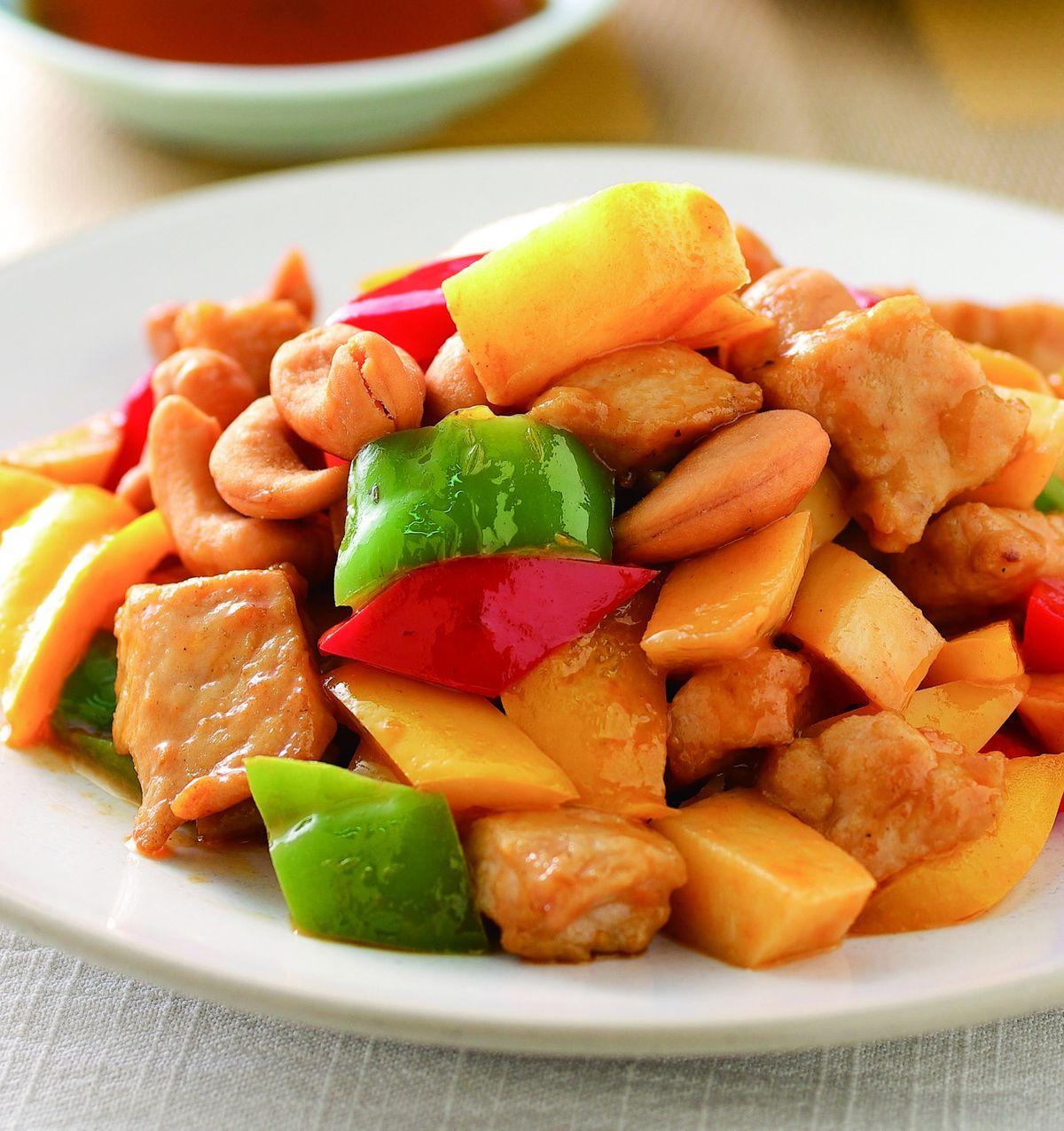食譜:鮮筍彩椒豬肉丁