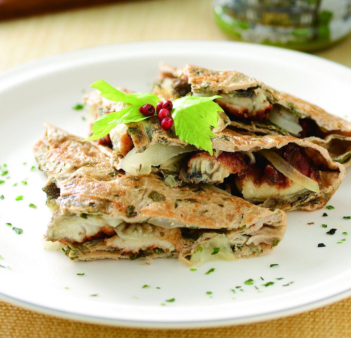 食譜:茶香鰻魚煎蛋燒