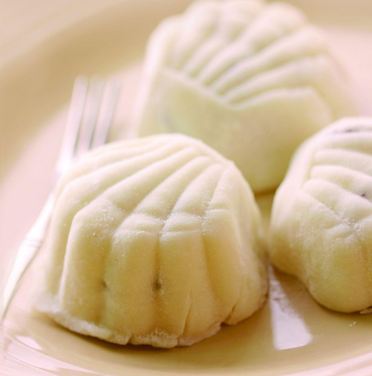 食譜:蘭姆葡萄乾冰皮月餅