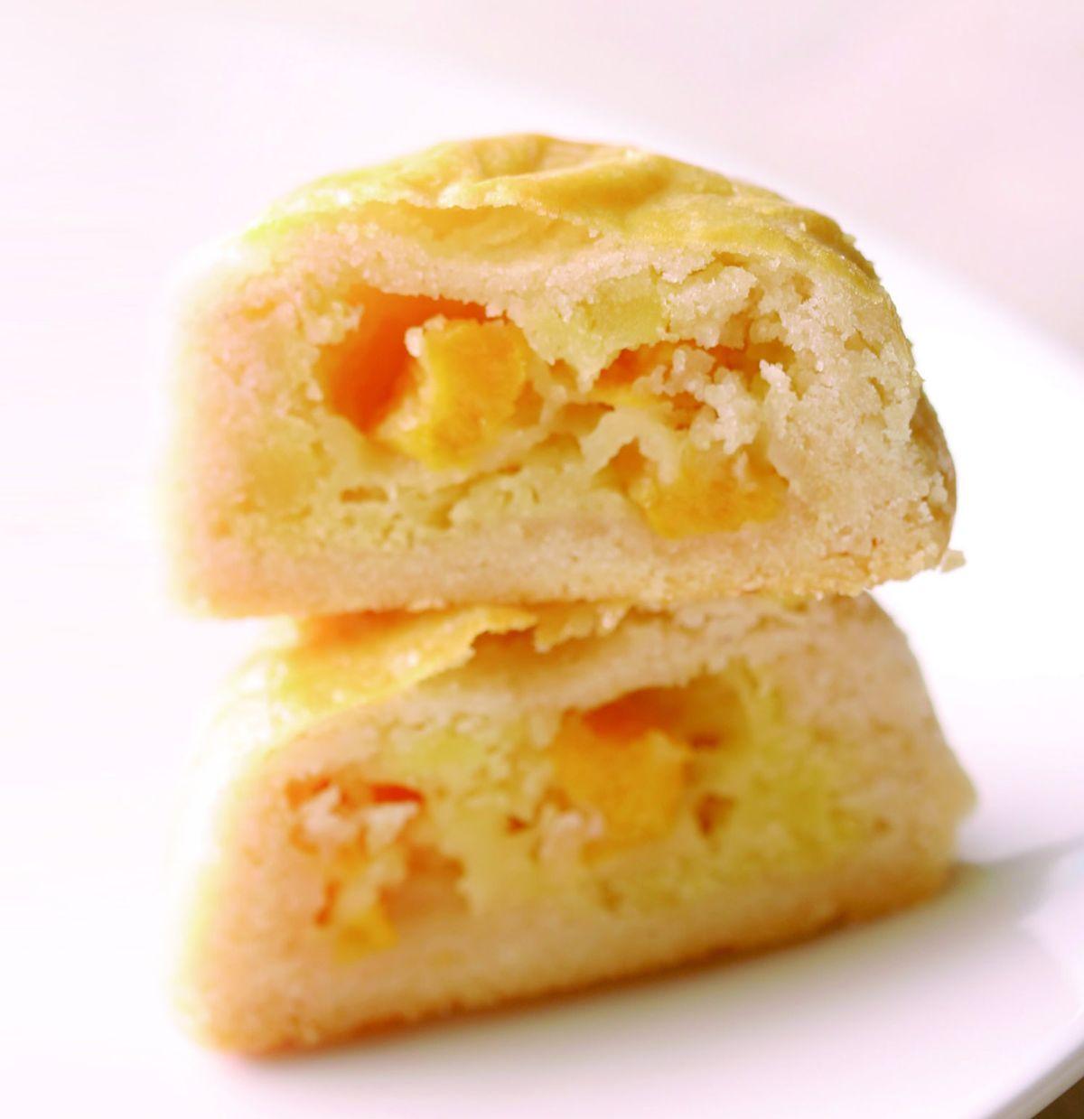 食譜:水蜜桃月餅