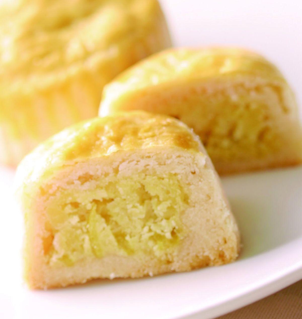 食譜:檸檬金桔月餅