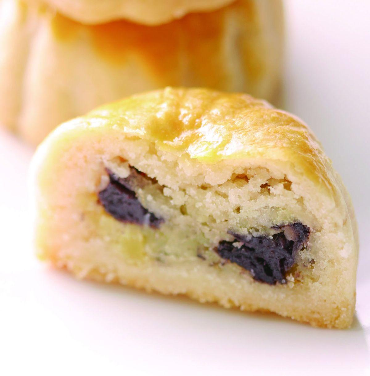 食譜:藍莓月餅