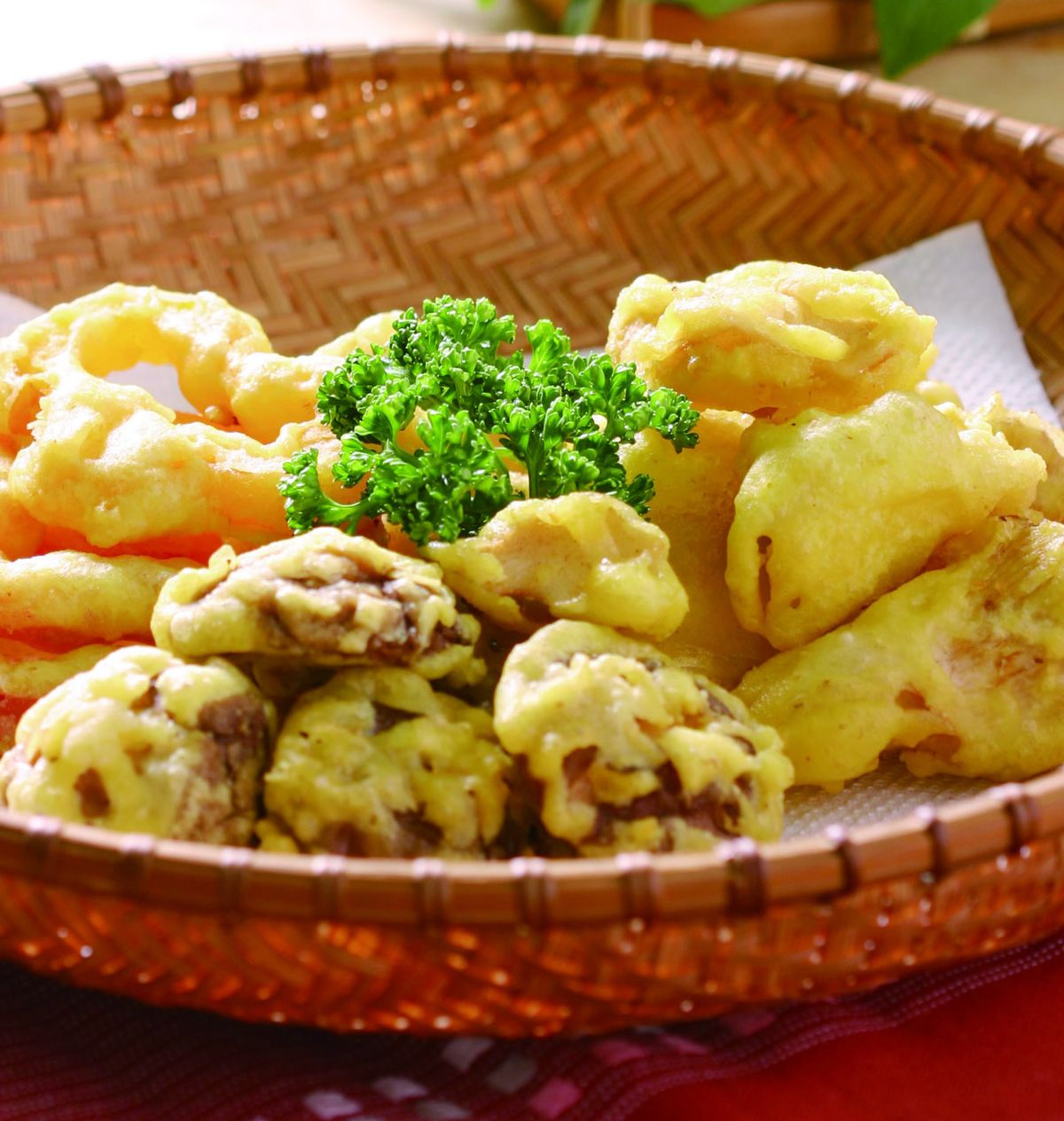 食譜:炸鮮菇