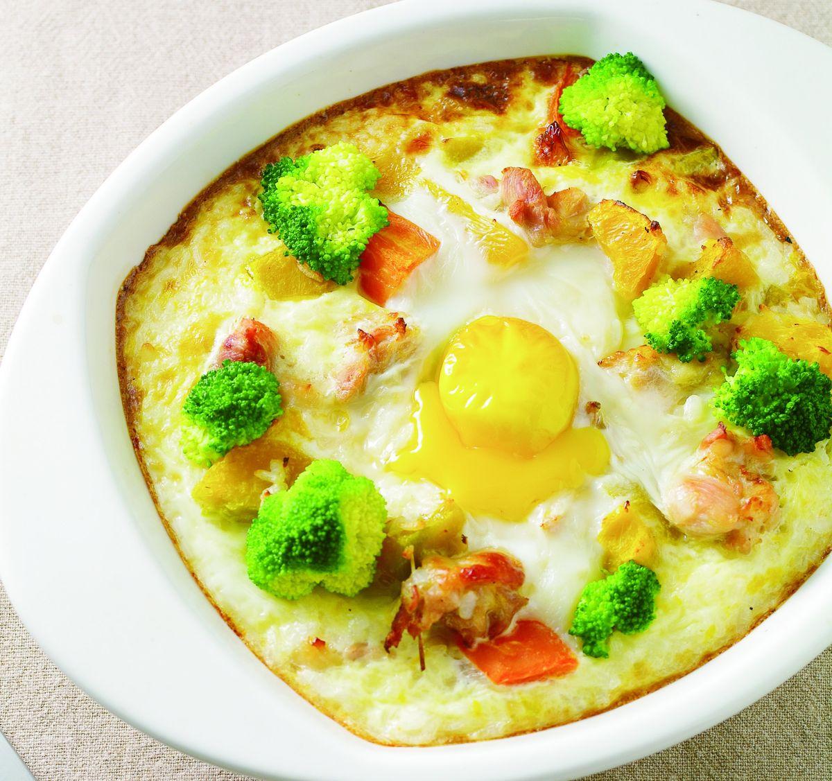 食譜:南瓜雞肉焗飯(2)