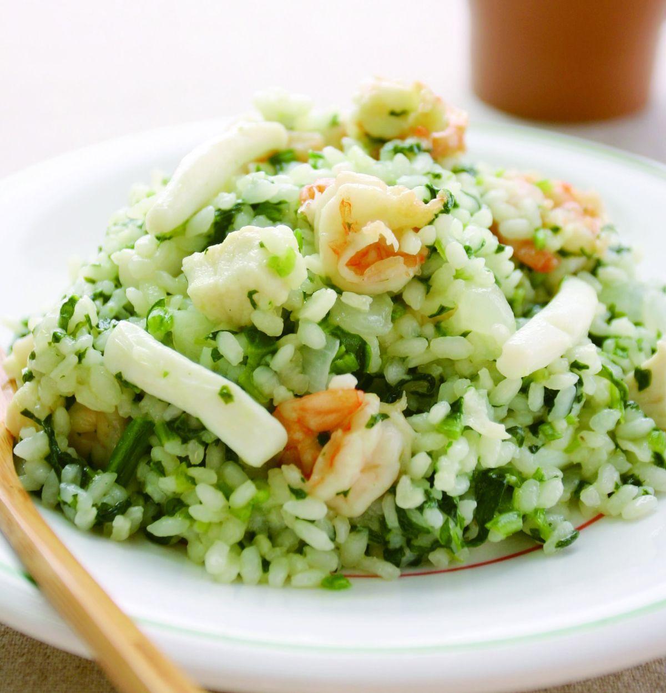 食譜:菠菜燉飯