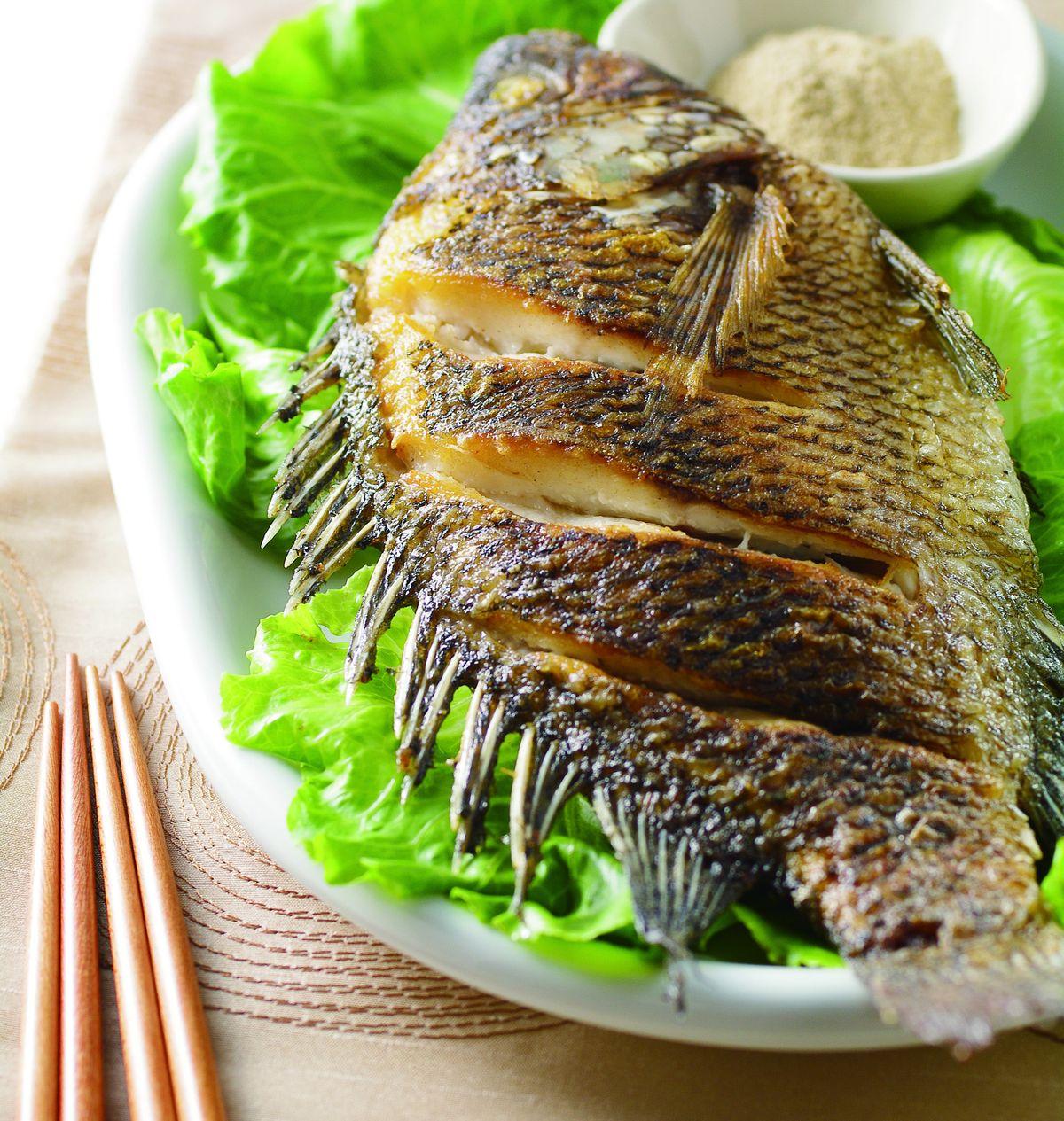 食譜:乾煎魚