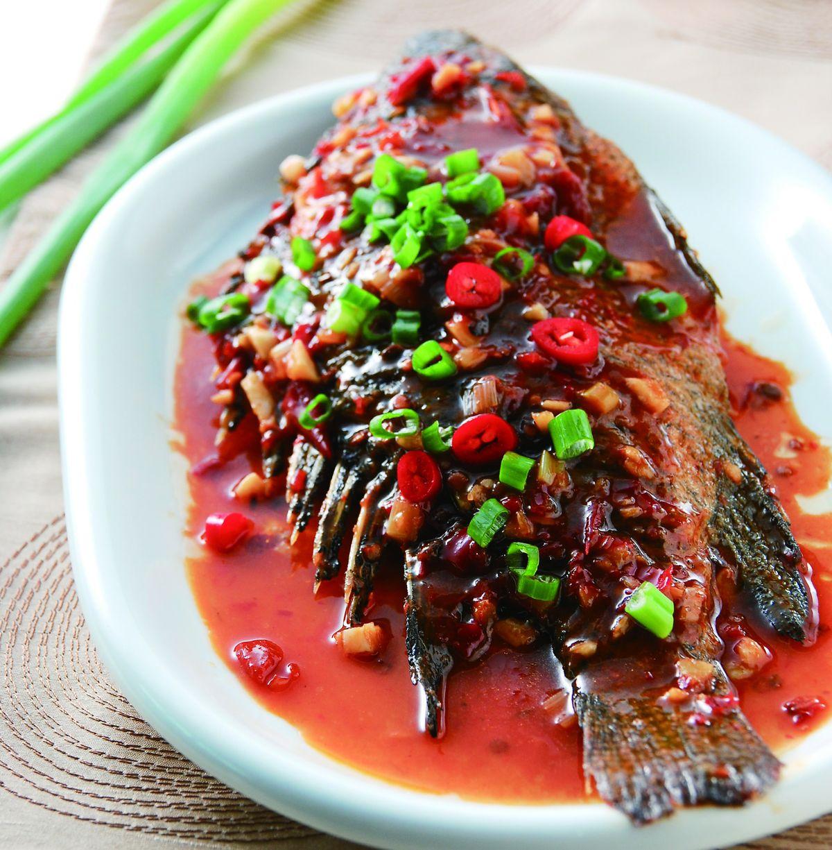食譜:豆瓣魚(5)