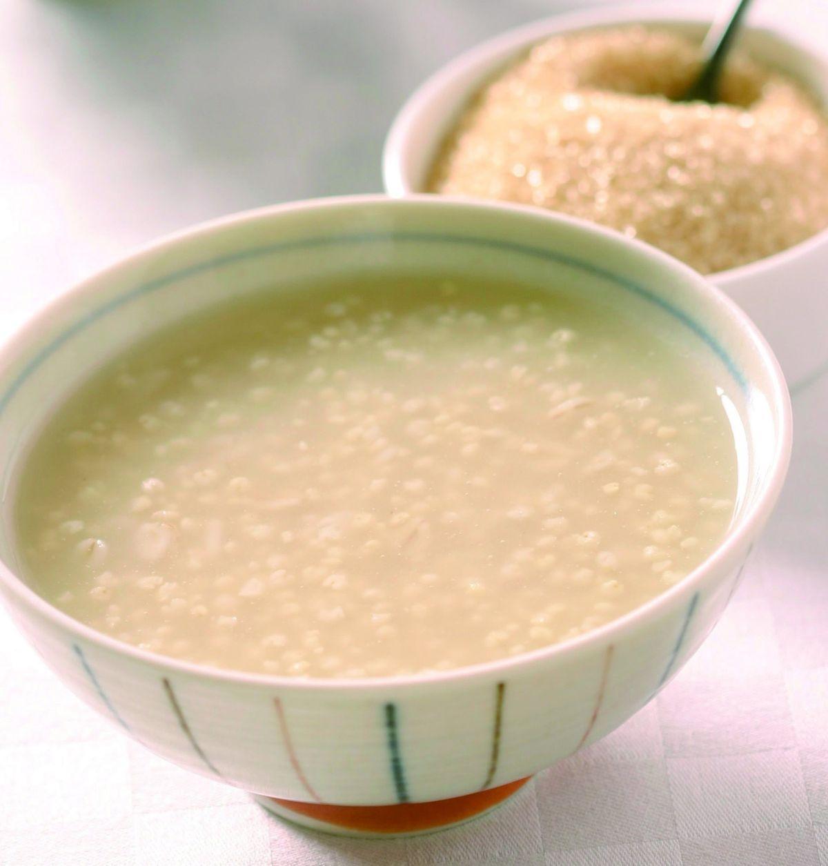 食譜:小米粥(5)