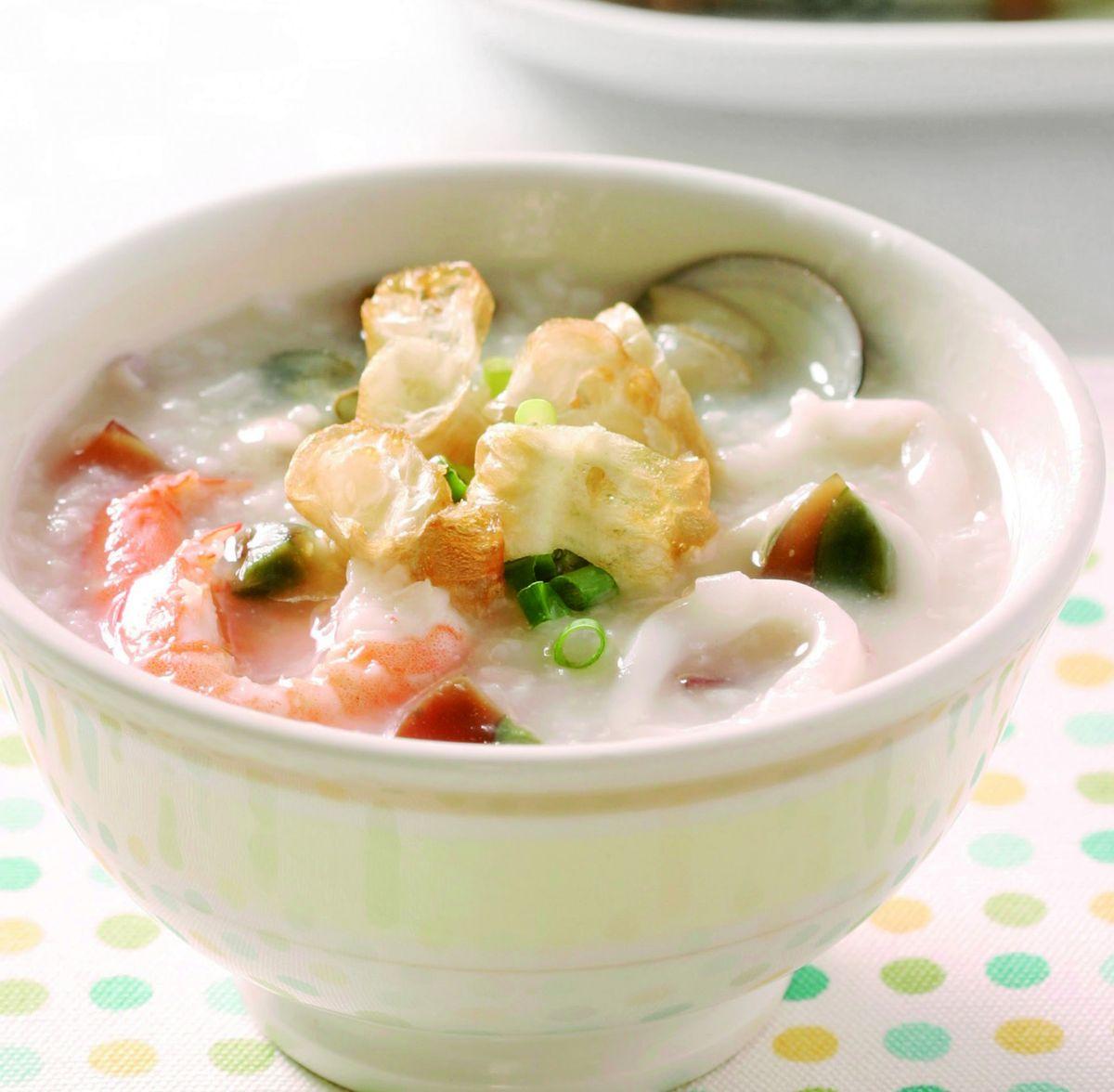 食譜:港式海鮮粥