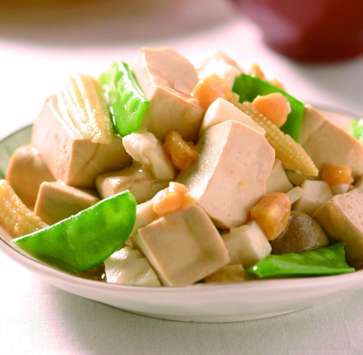 食譜:鹹蛋燴豆腐