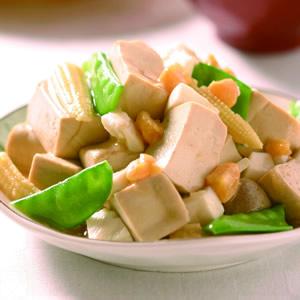鹹蛋燴豆腐
