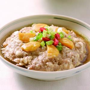 鹹蛋蒸肉餅(4)