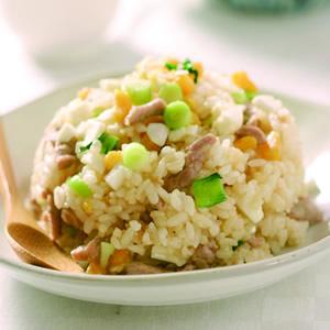 鹹蛋炒飯(1)