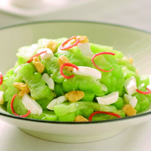 鹹蛋炒苦瓜(3)