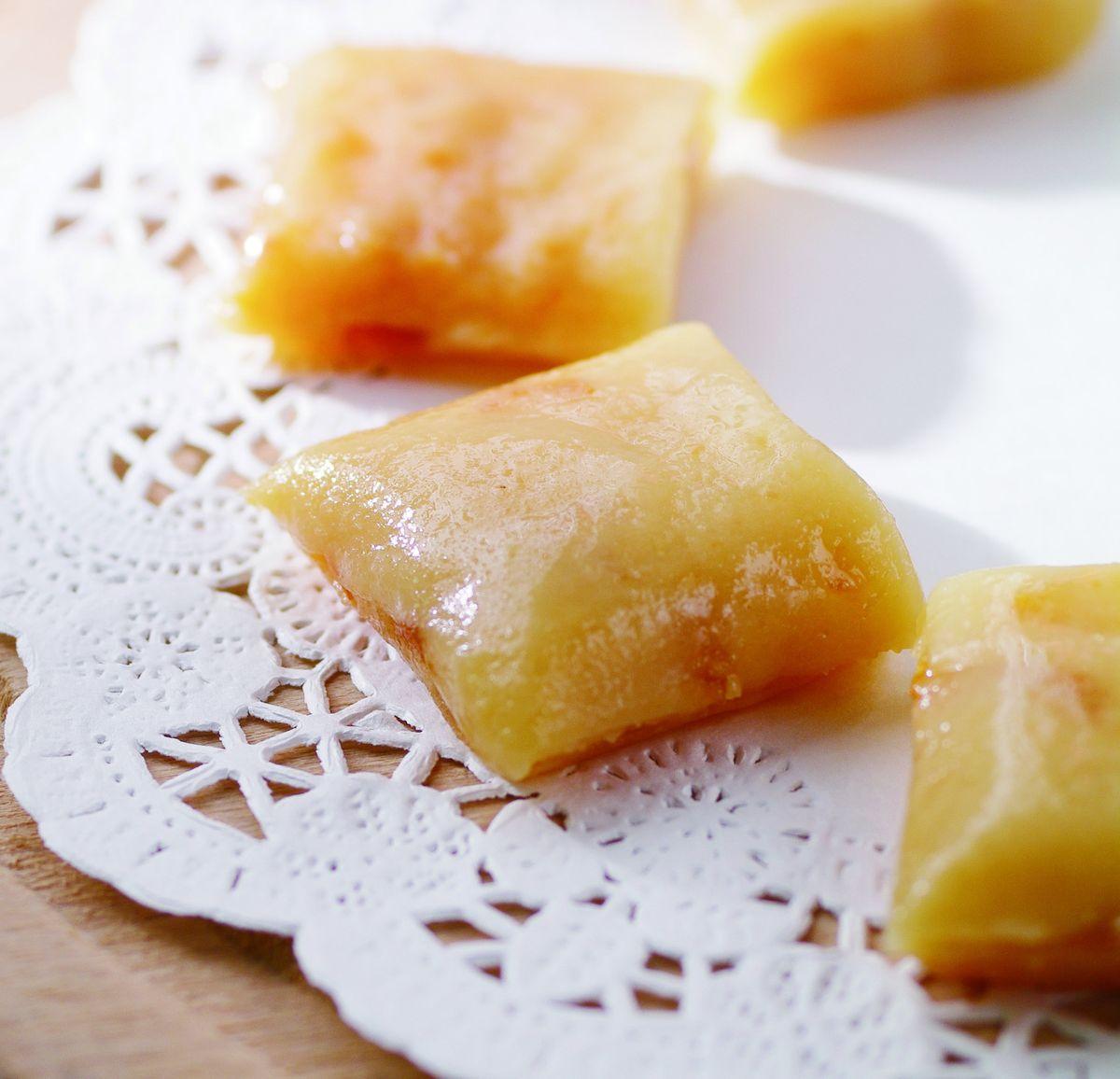 食譜:柚香牛奶糖