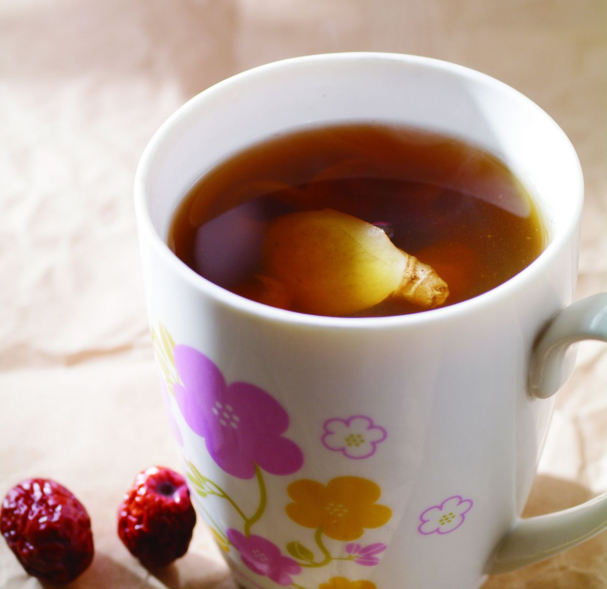 食譜:紅棗桂圓茶