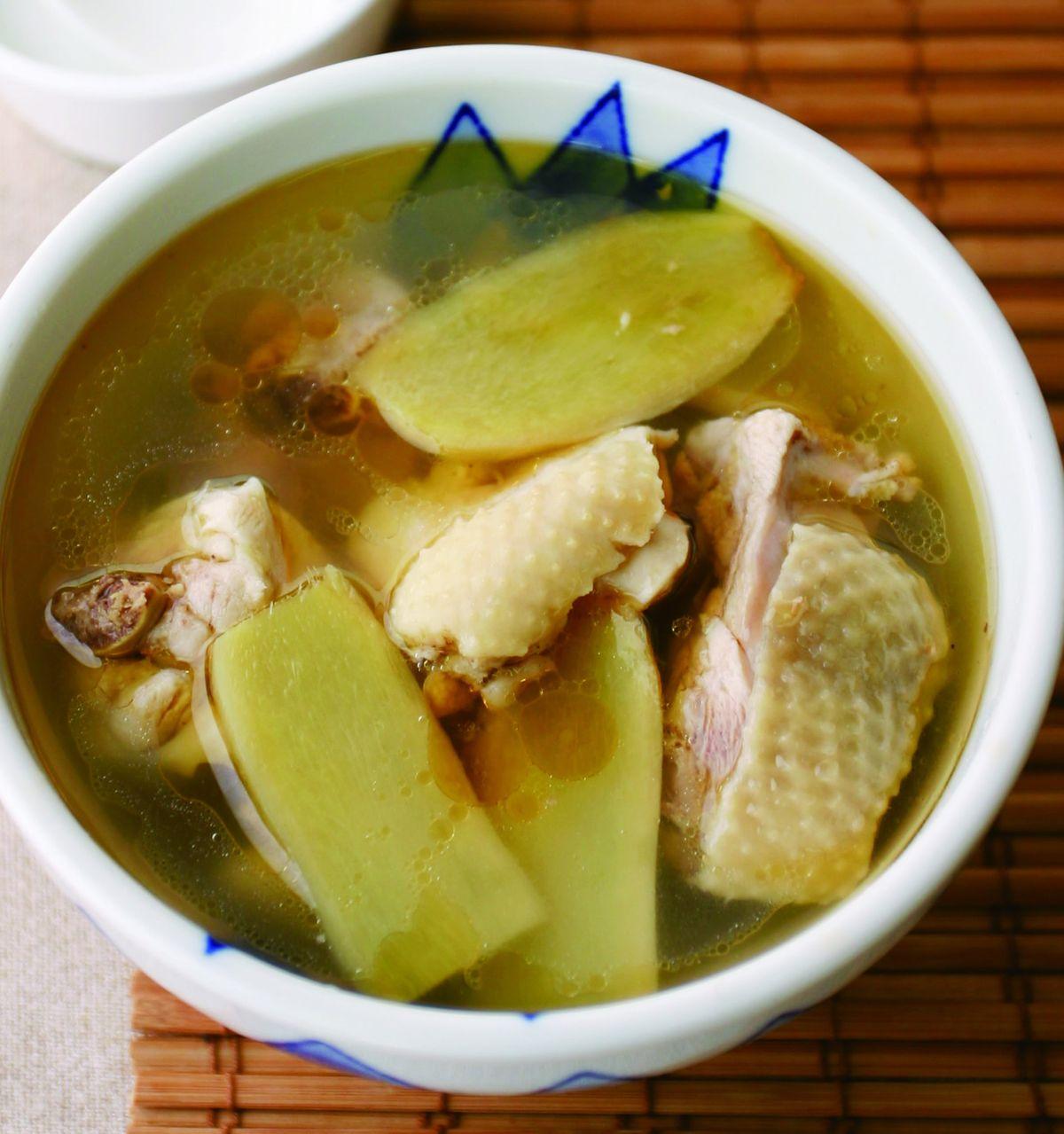 食譜:麻油雞(11)