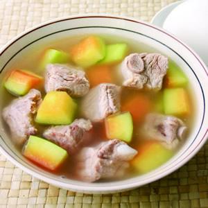青木瓜燉排骨湯