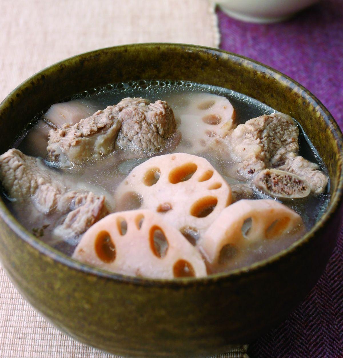 食譜:蓮藕排骨湯(1)