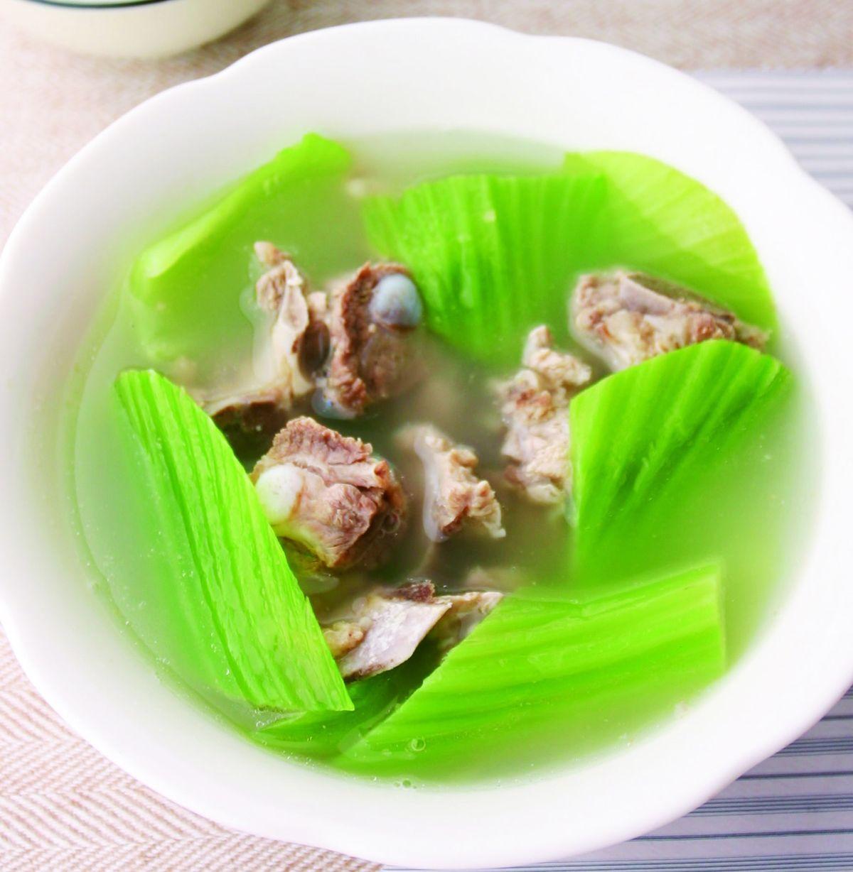 食譜:芥菜排骨湯