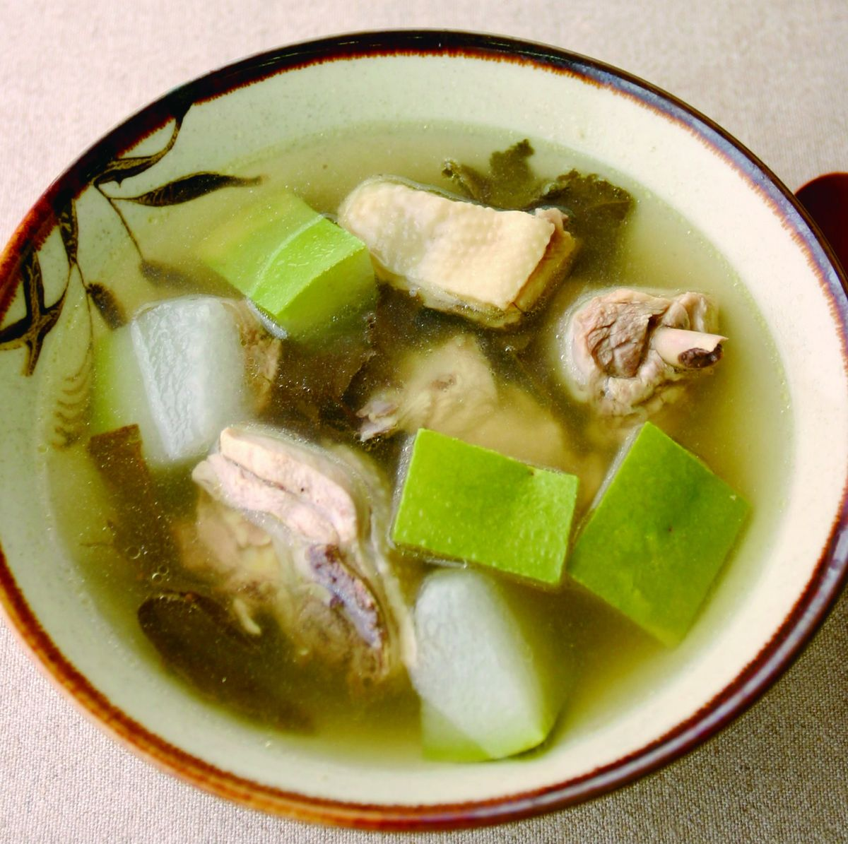 食譜:冬瓜荷葉雞湯