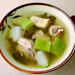 冬瓜荷葉雞湯
