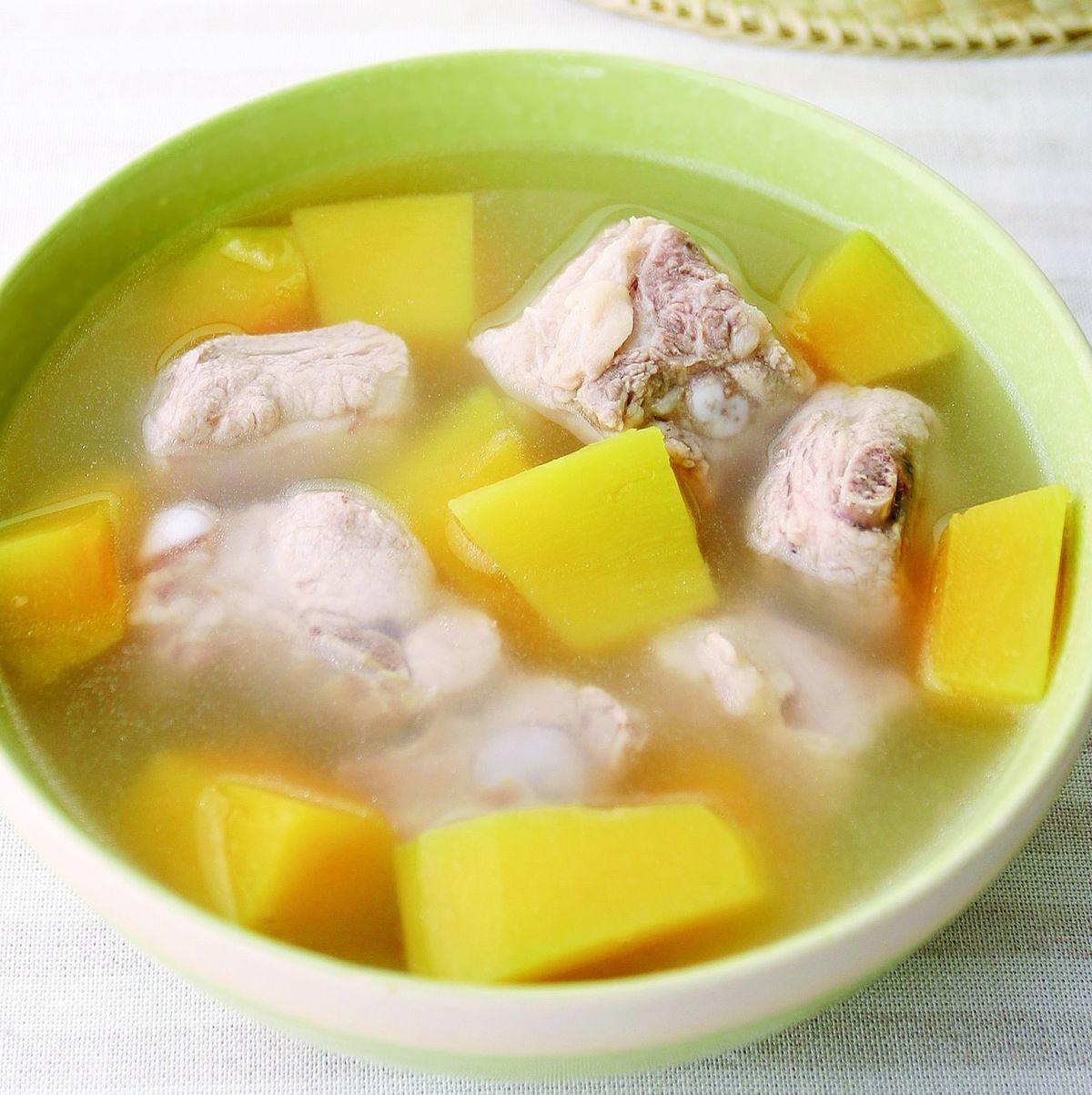 食譜:南瓜排骨湯