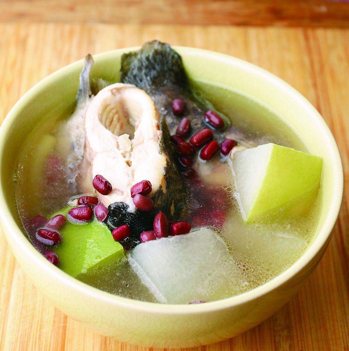 食譜:赤小豆冬瓜煲魚湯
