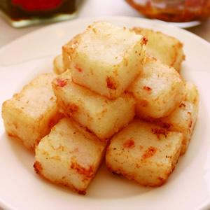 蘿蔔糕佐XO醬