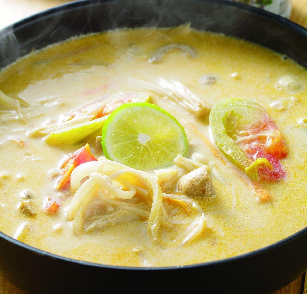 食譜:檸檬香茅椰奶鍋(1)