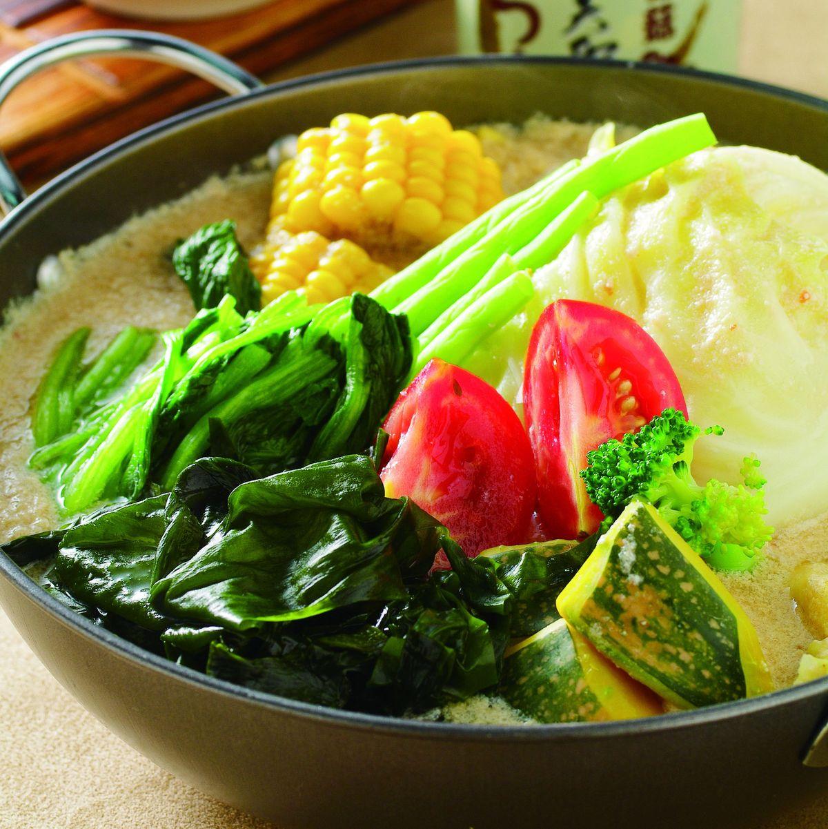 食譜:時蔬素鮮鍋