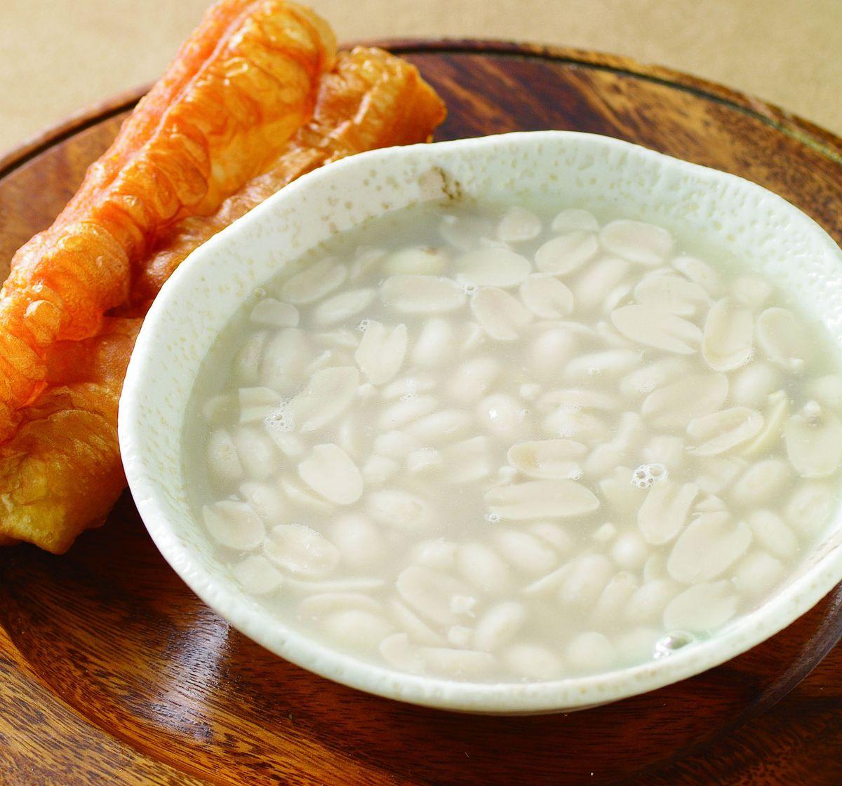 食譜:油條花生湯