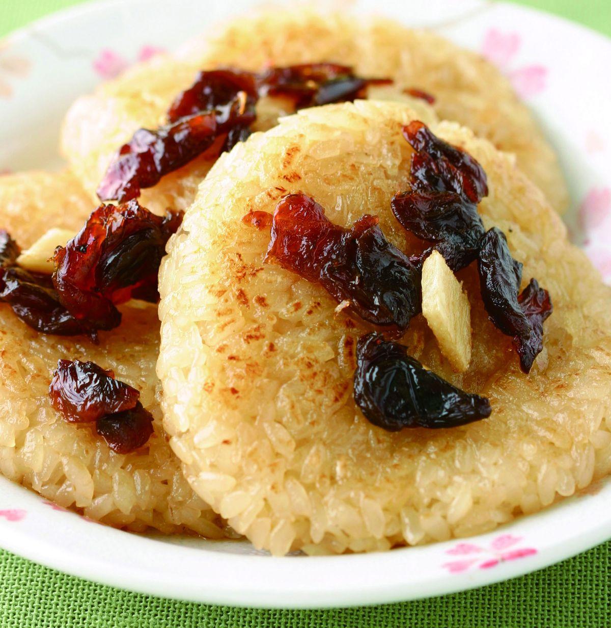 食譜:麻油米糕煎餅