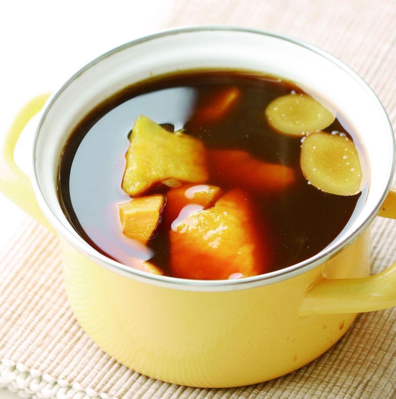 食譜:黑糖薑汁地瓜湯(1)