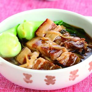福菜筍絲控肉