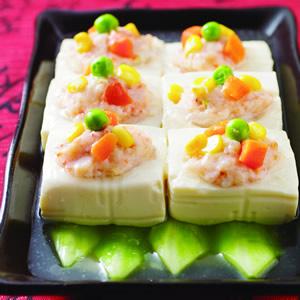 百花釀豆腐
