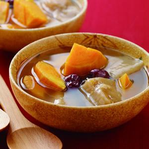 地瓜年糕甜湯