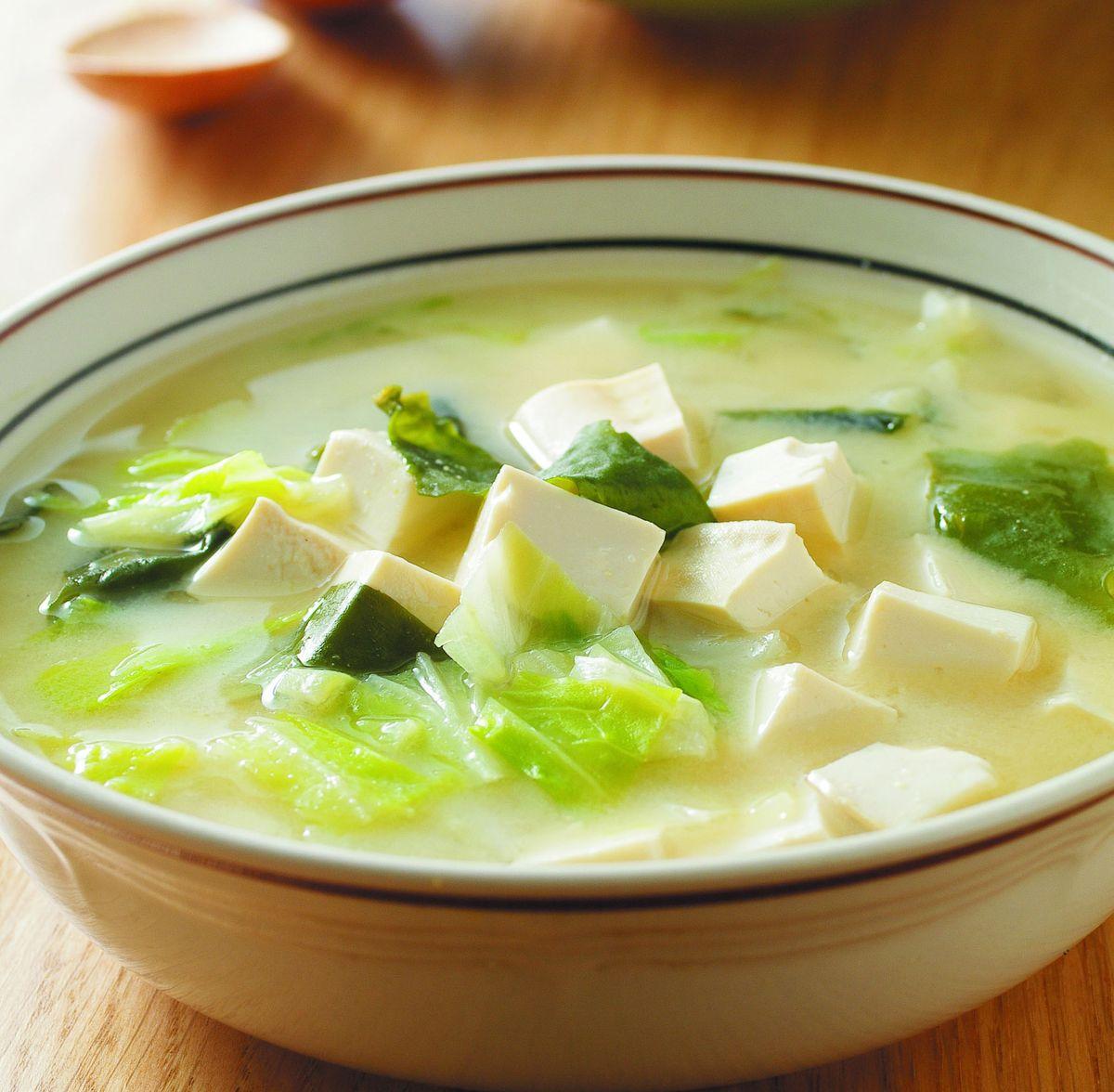 食譜:豆腐味噌湯(2)