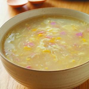 火腿玉米濃湯(2)