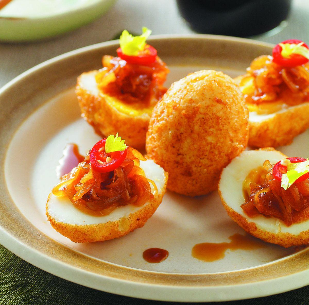 食譜:香酥炸雞蛋