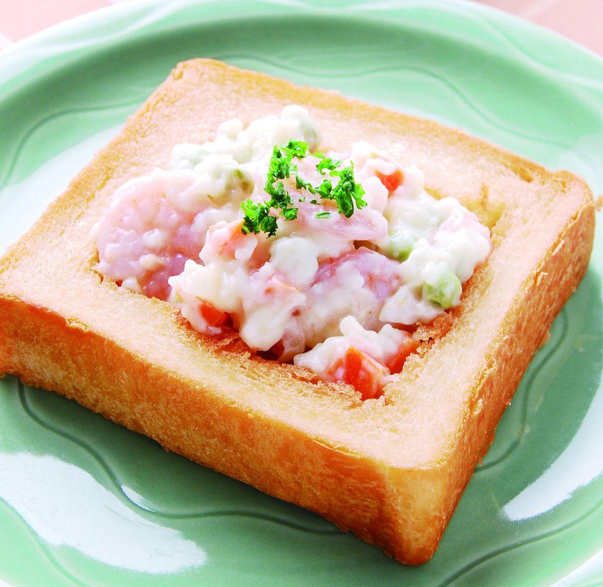 食譜:鮮蝦官財板