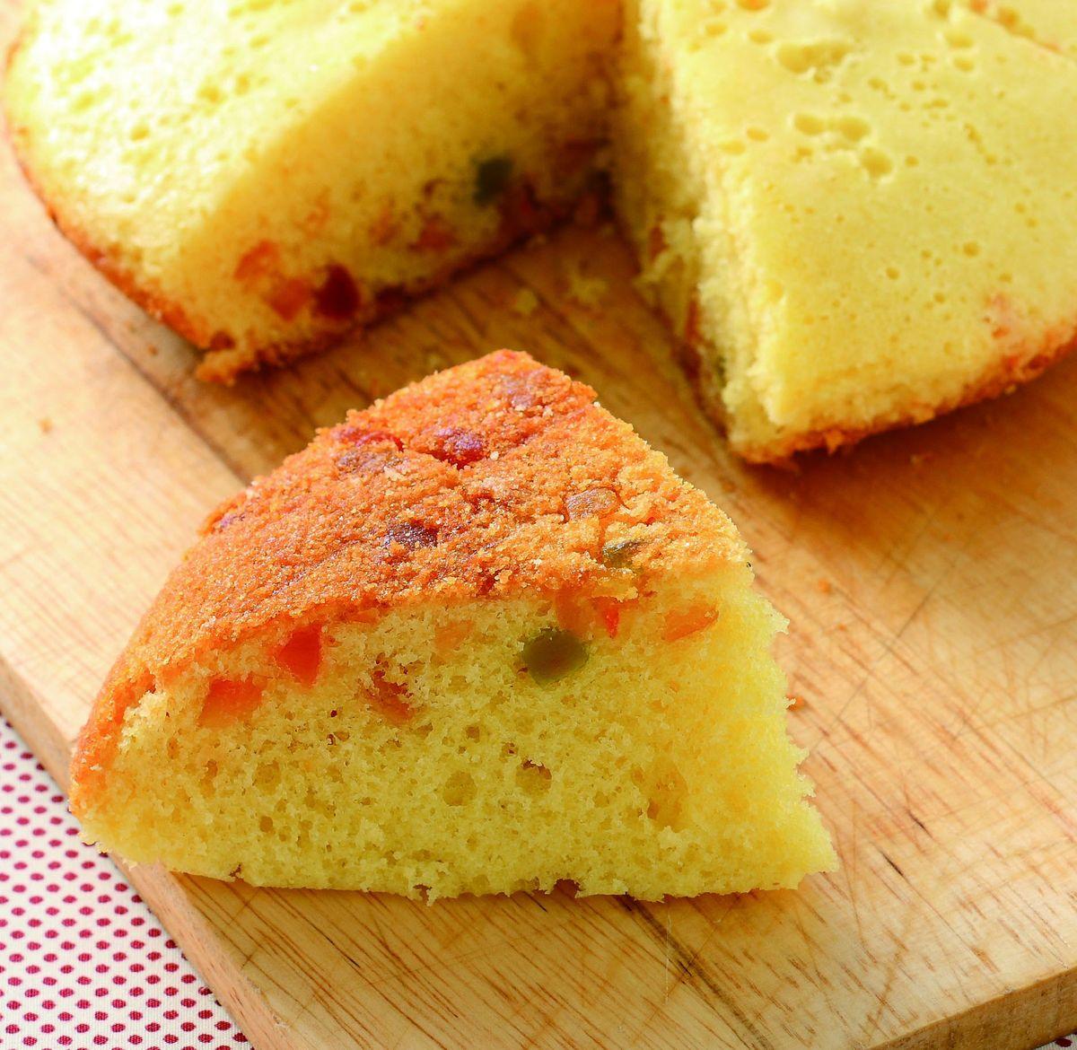 食譜:水果蛋糕(2)