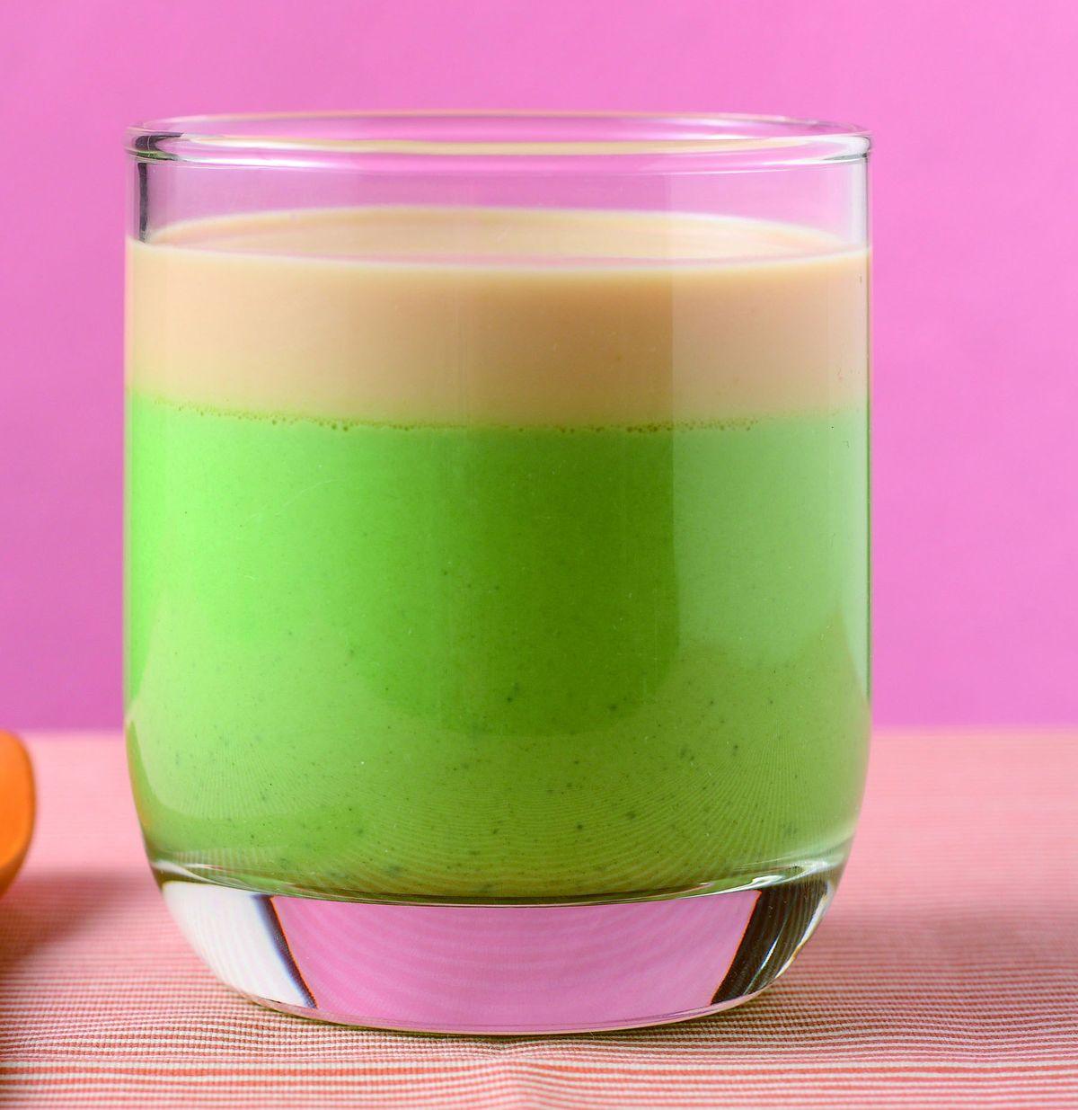 食譜:宇治牛奶焦糖雙層布丁