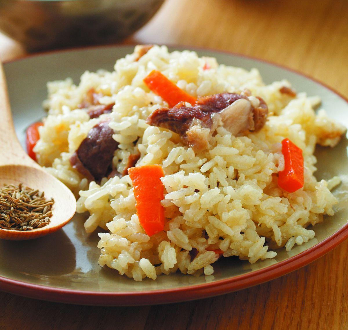 食譜:新疆抓飯