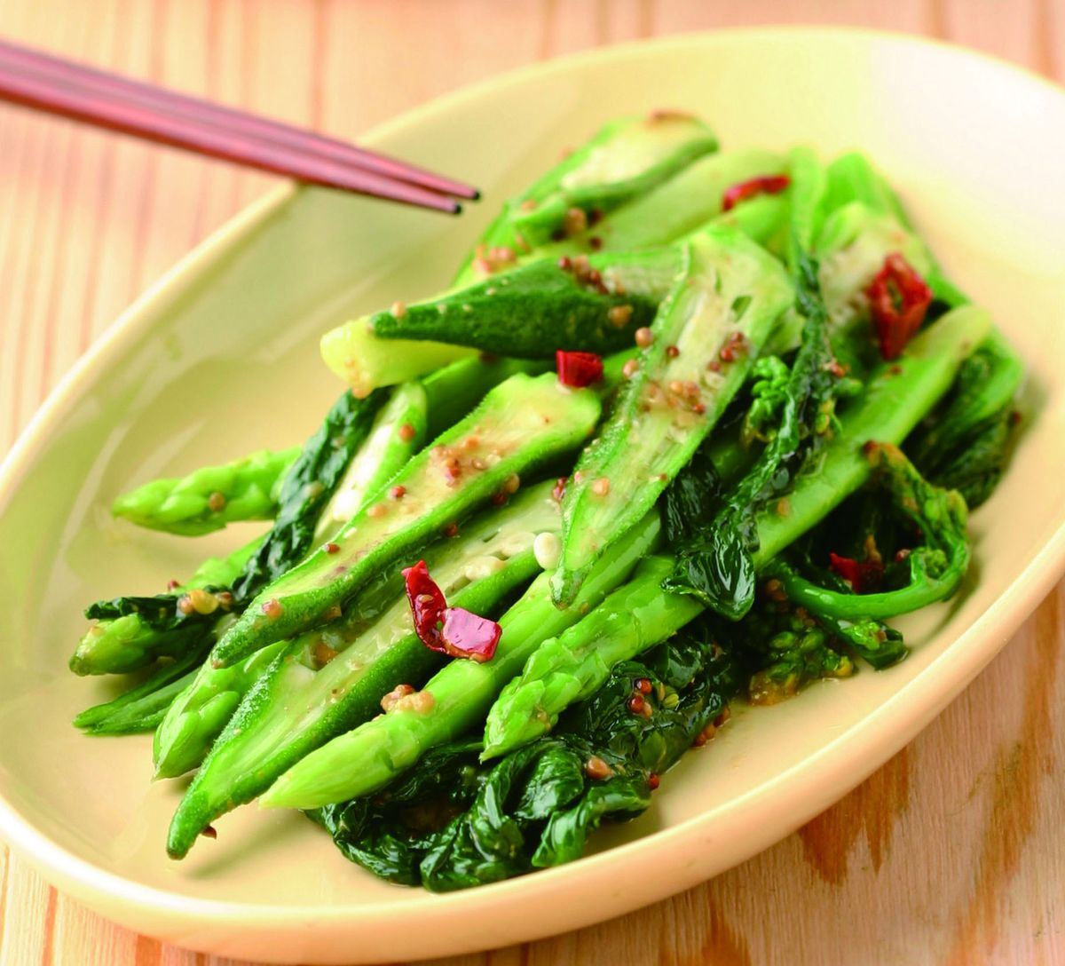 食譜:涼拌春菜