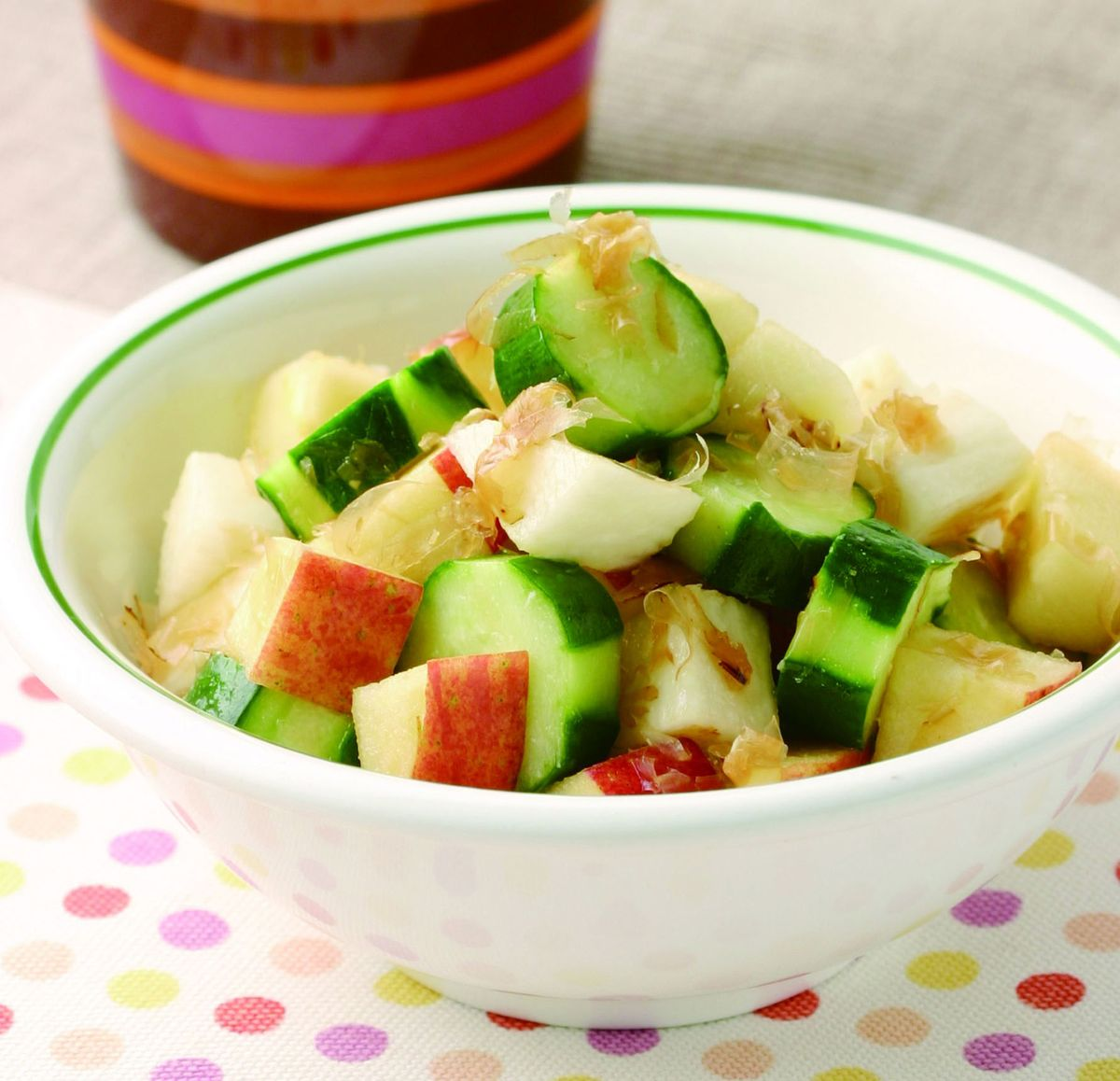 食譜:涼拌柴魚風味小黃瓜