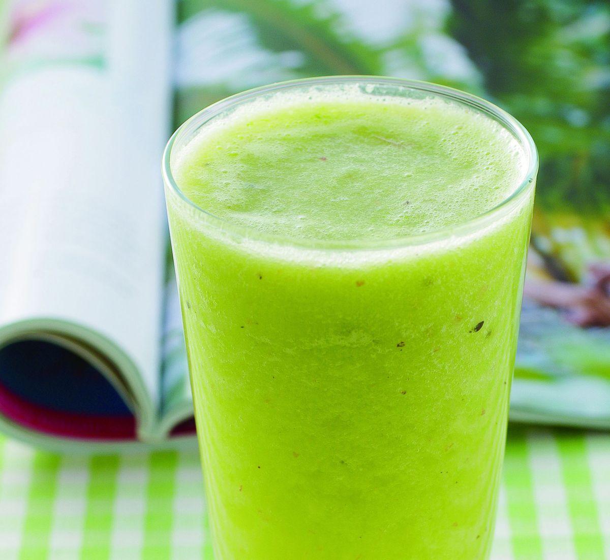 食譜:萵苣奇異果蔬果汁