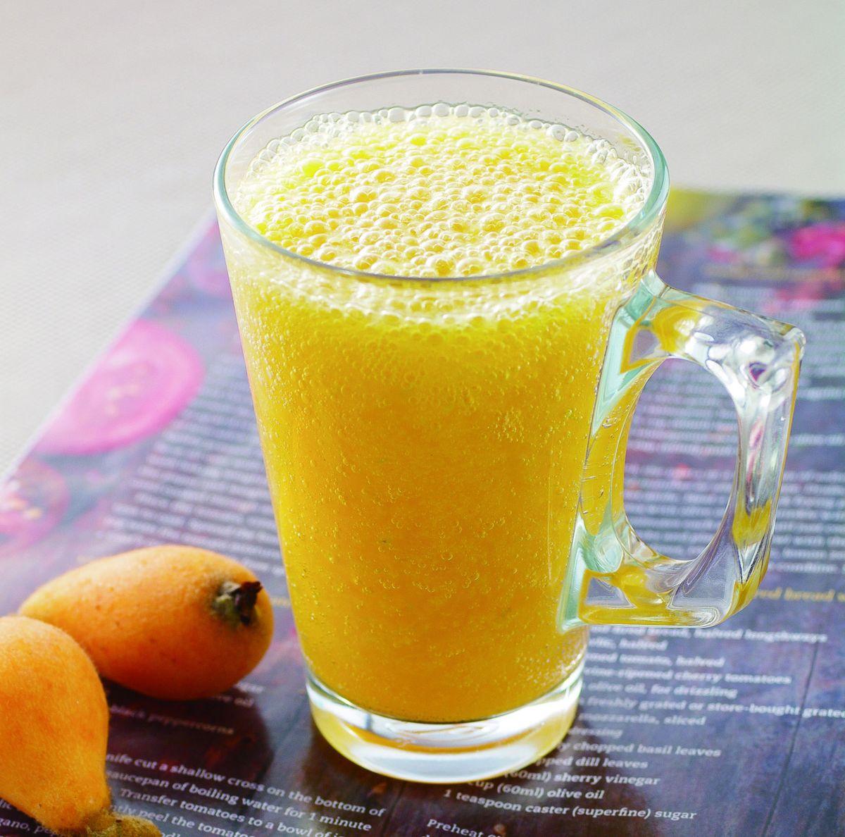 食譜:楊桃琵琶蔬果汁