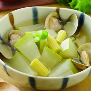 冬瓜玉筍蛤蜊湯